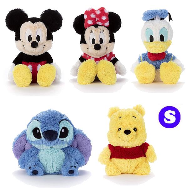 迪士尼 珊瑚絨毛 娃娃 玩偶 高質感 米奇 維尼 史迪奇 S號 Disney 日本正品 該該貝比日本精品