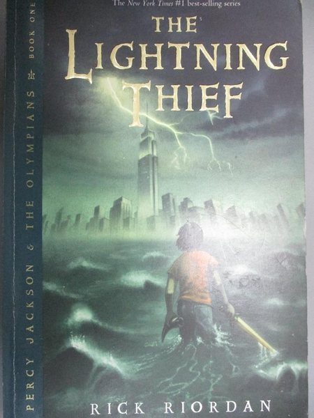 【書寶二手書T7/原文小說_LMN】The Lightning Thief_Riordan