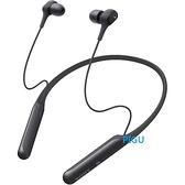 平廣 SONY WI-C600N 黑色 藍芽耳機 送袋台灣公司貨保一年 頸式 降噪 無線 可apt-x 環境音模式 對應
