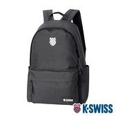 K-SWISS KS Patch Backpack雙肩後背包-黑