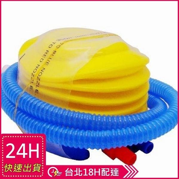 現貨★梨卡 -【泳圈救生圈浮床必備】腳踩打氣筒充氣幫浦~兩用可充氣可洩氣M2