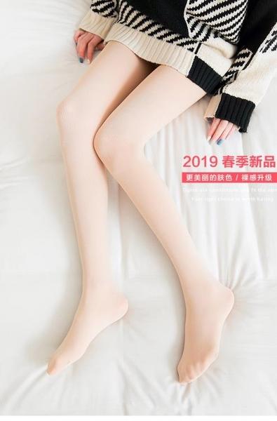 打底褲襪 【2條裝】春秋季絲襪女薄款秋冬款連褲襪女微厚光腿襪神器肉色襪子【快速出貨】