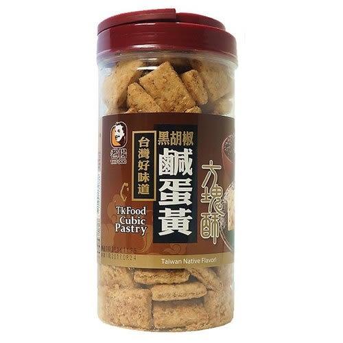 老楊 方塊酥-黑胡椒鹹蛋黃 370g