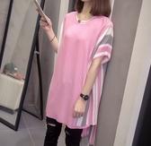 韓版針織連續身裙中大尺碼XL-4XL新款春夏針織連身裙R66.6474皇潮天下