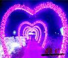 LED彩燈閃燈串燈100米戶外防水滿天星...