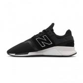New Balance 男女款 休閒黑色運動鞋-NO.MS247GI