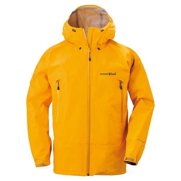 [好也戶外]mont-bell Rain Dancer Jacket男款連帽風雨衣/葵黃 No.1128340-SUF
