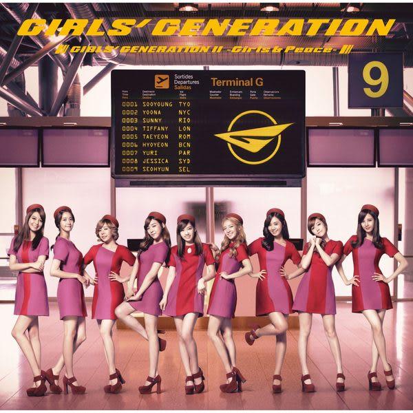 少女時代 Girls & Peace 普盤CD (音樂影片購)