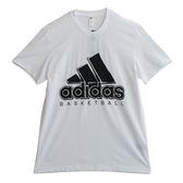 Adidas BOS SOLID  短袖上衣 DZ8614 男 健身 透氣 運動 休閒 新款 流行