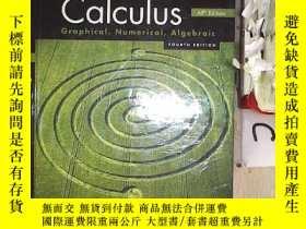 二手書博民逛書店Calculus罕見AP Edition Graphical,Numerical,Algebraic FOURTH
