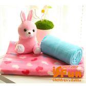 【iSFun】捲捲動物*嬰兒纖維毛毯/隨機款 ◆86小舖 ◆