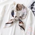 長條領巾絲巾小方巾女圍巾護頸薄款【少女顏究院】