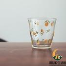 日式檸檬耐熱玻璃水杯早餐果汁咖啡花茶牛奶茶杯【創世紀生活館】