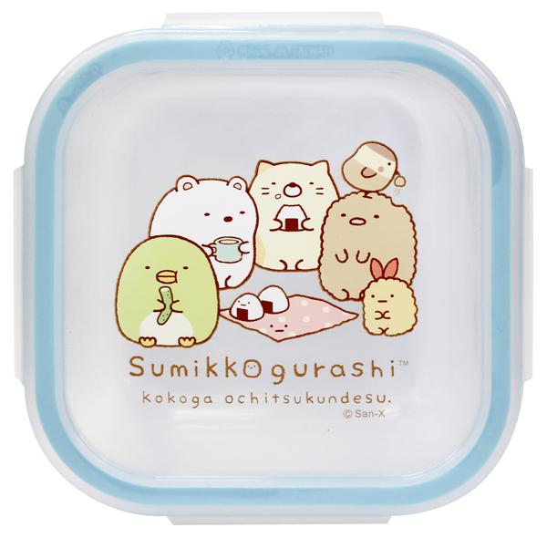 角落小夥伴 角落生物 正方700ml玻璃食物分裝盒 野餐 SG70131B