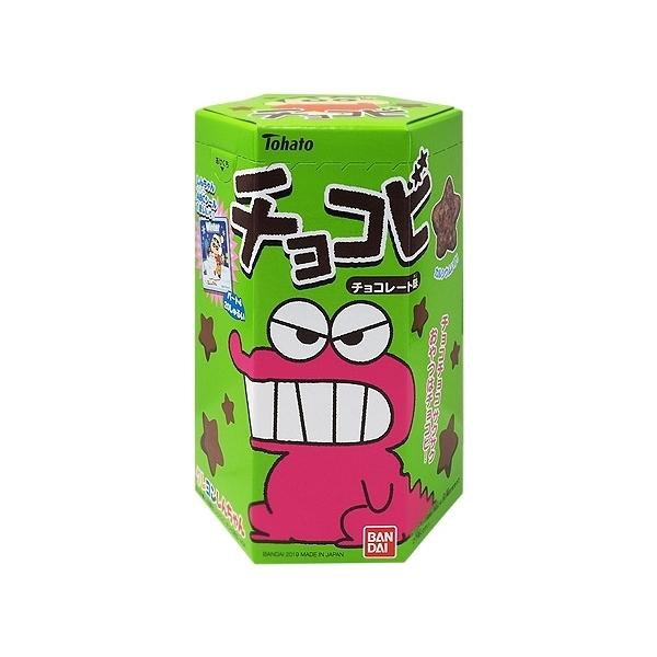 Tohato 東鳩 蠟筆小新巧克力餅(25g)【小三美日】