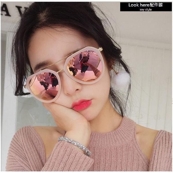 2018雷朋款太陽眼鏡 中性墨鏡 男女同款 個性潮流款 抗UV400 大框墨鏡 眼鏡 墨鏡【B036】