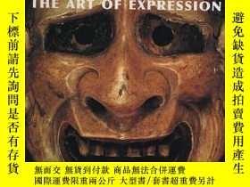 二手書博民逛書店【罕見】Masks: The Art of Expression