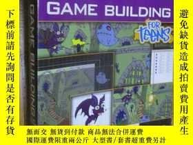 二手書博民逛書店2D罕見Game Building for Teens (Course Technology) 【附光盤】16開奇