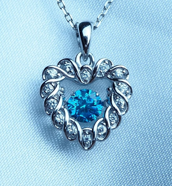 Circle love diamond
