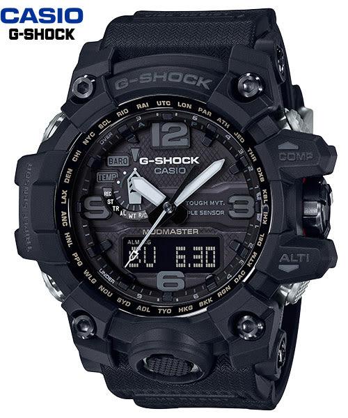 CASIO 卡西歐 G-SHOCK 超人氣商品GWG-1000-1A1 登山錶太陽能電波/ 高度/方位/溫度/氣壓GWG-1000-1A1DR