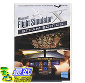 [106美國直購] 全新 Microsoft Flight Simulator X: Steam Edition (Boxed Steam Code)