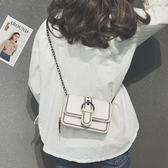 【618好康又一發】2018新款潮韓版時尚鏈條小方包斜挎單肩包