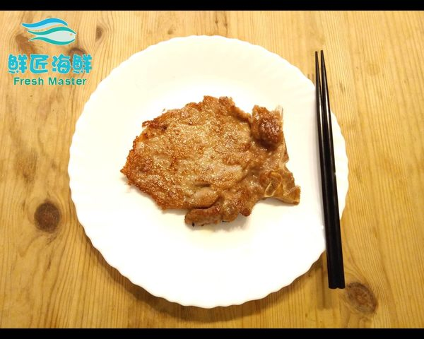 【鮮匠海鮮】【香酥鐵路豬排(120g)】外酥內嫩香酥口感,已醃漬完成拆封即可料理