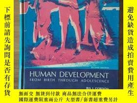 二手書博民逛書店Human罕見Development from birth th