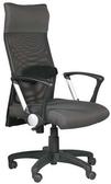 HP348-16 辦公椅/方塊布+黑網布/氣壓+後仰