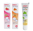 【愛吾兒】貝親 pigeon 兒童牙膏(草莓 P78064/橘子P78065/蘋果P78525)45g/1-6Y