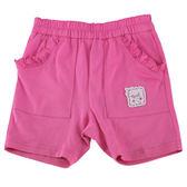 【愛的世界】純棉緊身五分褲/4歲-台灣製- ★春夏下著