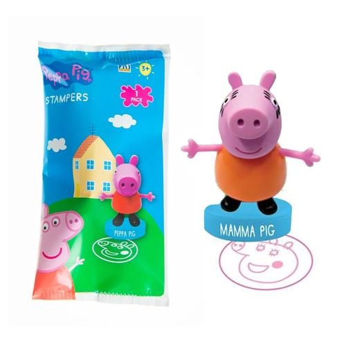 《 Peppa Pig 》佩佩豬印章公仔(隨機出貨) / JOYBUS玩具百貨