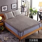 保暖床墊學生宿舍專用子鋪床褥1.8m床2米榻榻米加厚保暖羊羔絨0.9雙人【新年快樂】