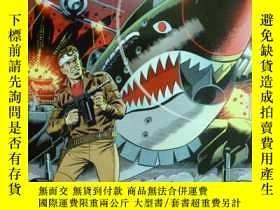 二手書博民逛書店英文原版罕見沃利伍德漫畫集 Wallace Wood Dare-Devil Aces: Commandos & O