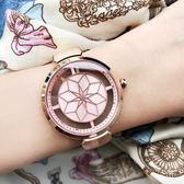 RELAX TIME RT63 綻放光彩女人腕錶-粉x玫塊金/36mm RT-63-3