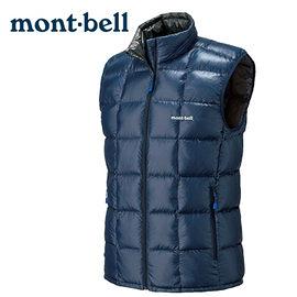 丹大戶外 日本【mont-bell】Superior 男款羽絨背心 1101468IND 靛藍