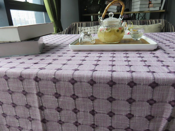 時尚優雅空間餐桌布 茶几布 隔熱墊 鍋墊 杯墊 餐桌巾73 (90*130cm)