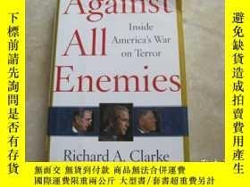 二手書博民逛書店Against罕見All Enemies: Inside Ame