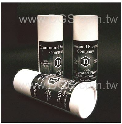 《DRUMMOND》微量 刻度毛細管 Pipet, Disposable, Micro Capillary
