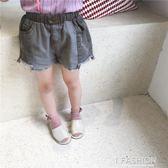 童裝夏裝新款男女童韓版牛仔短褲兒童寶寶休閒熱褲-ifashion