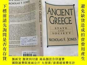 二手書博民逛書店Ancient罕見Greece: State and Socie
