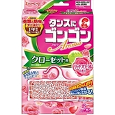 【日本製】【KINCHO 金鳥】衣櫃用 防蟎 防蟲 防霉 芳香片 花香 SD-2095 - 日本製