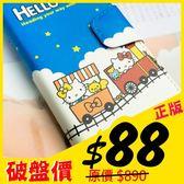 MQueen膜法女王 APPLE iphone5 ise i5s  Hello Kitty 凱蒂貓 手繩 磁釦 彩繪 手機套 側掀 皮套
