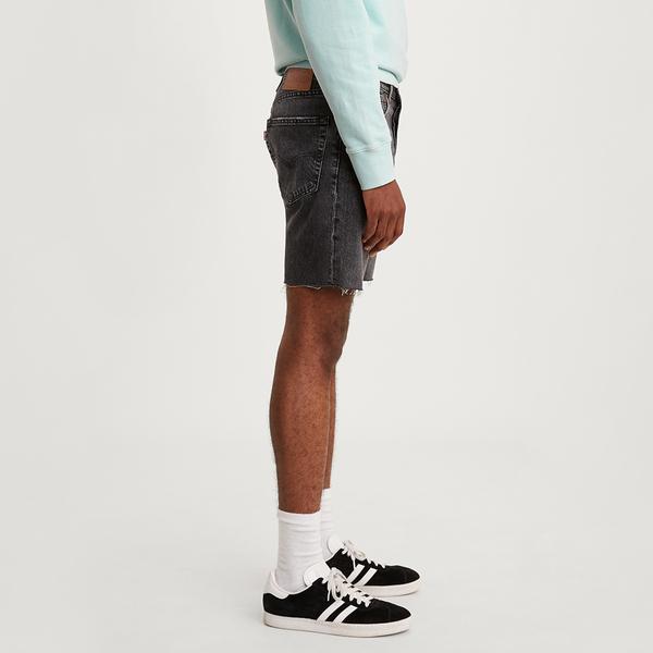 Levis 男款 501 93 復古排釦直筒牛仔短褲 / 不收邊褲口 / 無彈性