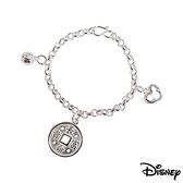 Disney迪士尼金飾 長命富貴 純銀手鍊