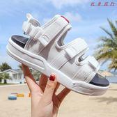 運動涼鞋女韓版平底沙灘女鞋