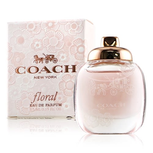 COACH Floral 芙洛麗女性淡香精 4.5ml【新高橋藥妝】
