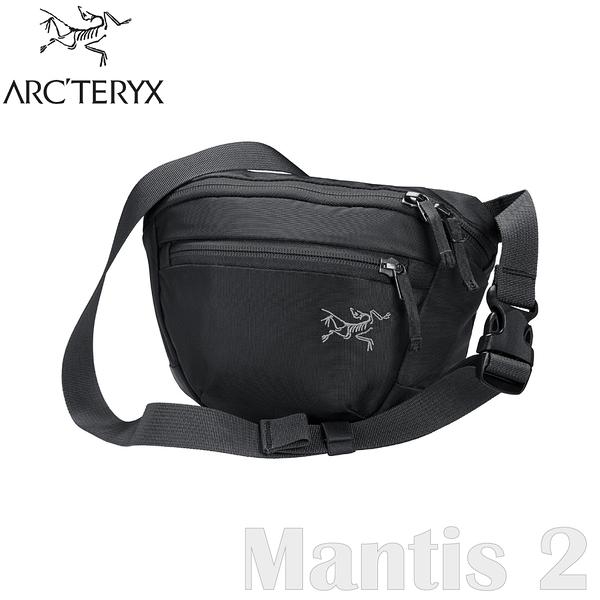 【ARC'TERYX 始祖鳥 Mantis 2L 多功能腰包《黑》】25818/肩背包/隨身包/出國旅行