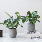 ins北歐創意仿真盆栽桌面小盆栽擺件室內辦公室餐廳裝飾綠植物盆景 XY4954【KIKIKOKO】