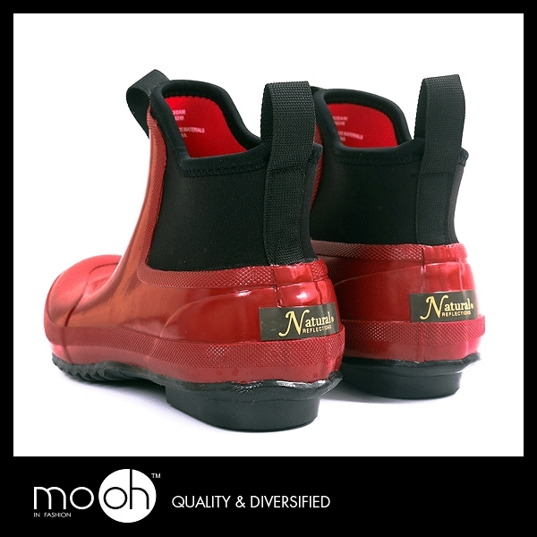短筒雨鞋 防水鞋 保暖 英國柔軟男女款低筒雨鞋 mo.oh (歐美鞋款)